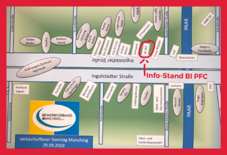 Info-Stand am Verkaufsoffenen Sonntag @ Ingolstädter Straße, 85077 Manching