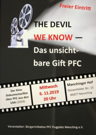 THE DEVIL WE KNOW - Das unsichtbare Gift PFC